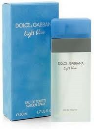 DOLCE & GABBANA LIGHT BLUE EDT 50 ml spray